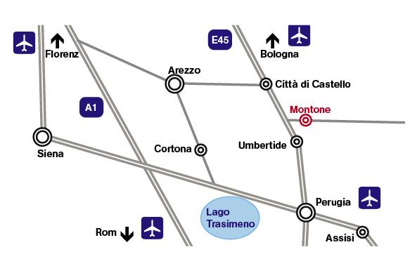 map umbrien montone