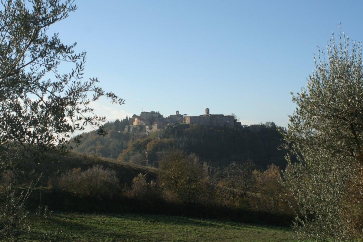 Wandern in Umbrien, Montone, Ferienwohnung